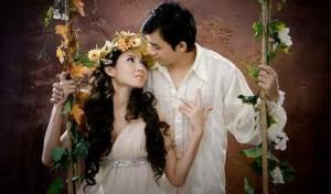 pernikahan yang wah