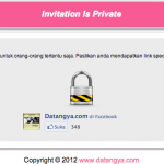 [RELEASE] Fitur Private Invitation