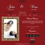 undangan online tema wall