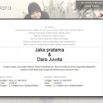 undangan online - Halaman Resepsi