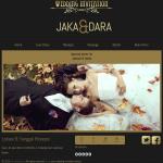 Theme undangan online: Golden (Undangan dengan hiasan emas yang elegan)