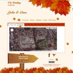 tema undangan online autumn