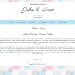 undangan online standart - love story
