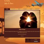 Tema undangan online Traveller : undangan dengan design unik untuk para traveller