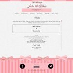 undangan online sweety - resepsi