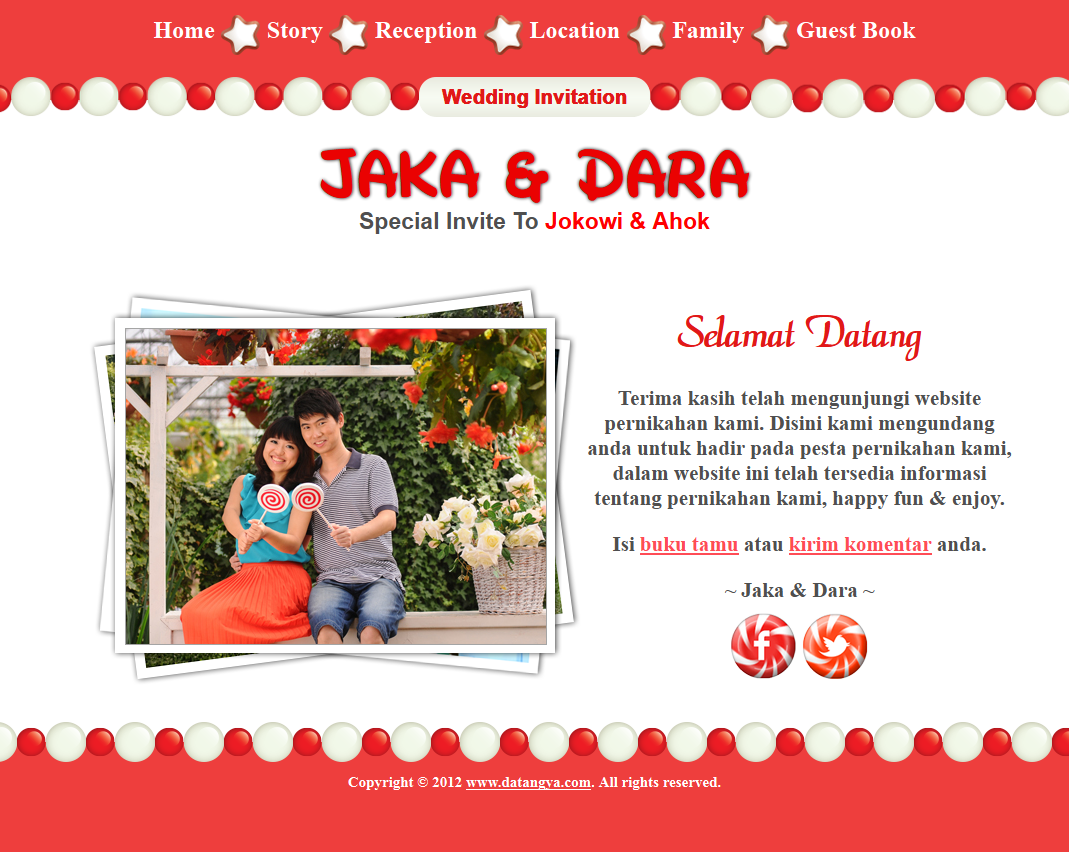 Download Tema undangan online candy – manisnya rasa cinta seperti ...