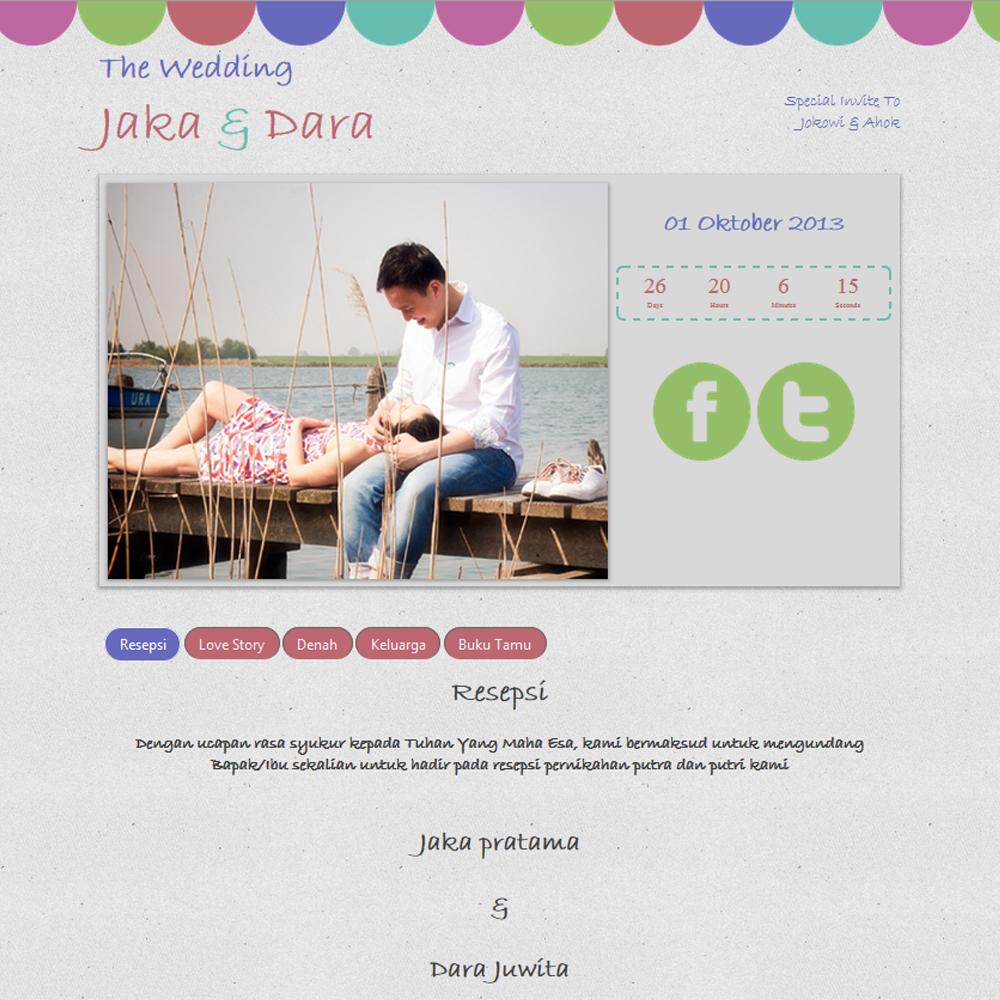 Datangya Undangan Online Colorfull Pro Penuh Warna