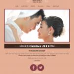 tema undangan online - halaman home