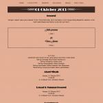 tema undangan online - halaman resepsi