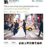 Photobomb : Aktor ini mengganggu jalannya sesi foto prewedding pasangan pengantin