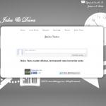tema undangan online - white - bukutamu