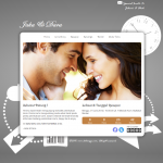 Tema undangan online White – Undangan online simple seputih cinta