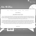tema undangan online - white - story