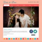 Tema undangan online Pastel – ceriakan pernikahanmu dengan warna warni pastel