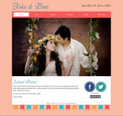 tema undangan online pastel-home