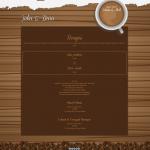 Tema undangan online coffee - home