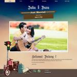 Tema undangan online Urban – Ekspresikan gayamu di undangan pernikahanmu