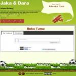 Tema undangan online football-holic bukutamu