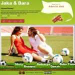 Tema undangan online football-holic home