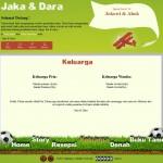 Tema undangan online football-holic keluarga