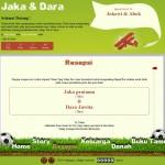 Tema undangan online football-holic resepsi