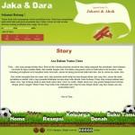 Tema undangan online football-holic story