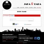 tema undangan online city skyline