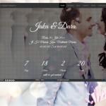 Desain Undangan Pernikahan Online Dotted – Prewedding background