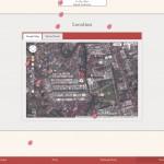 Desain undangan online Sakura