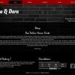 undangan online team black wall