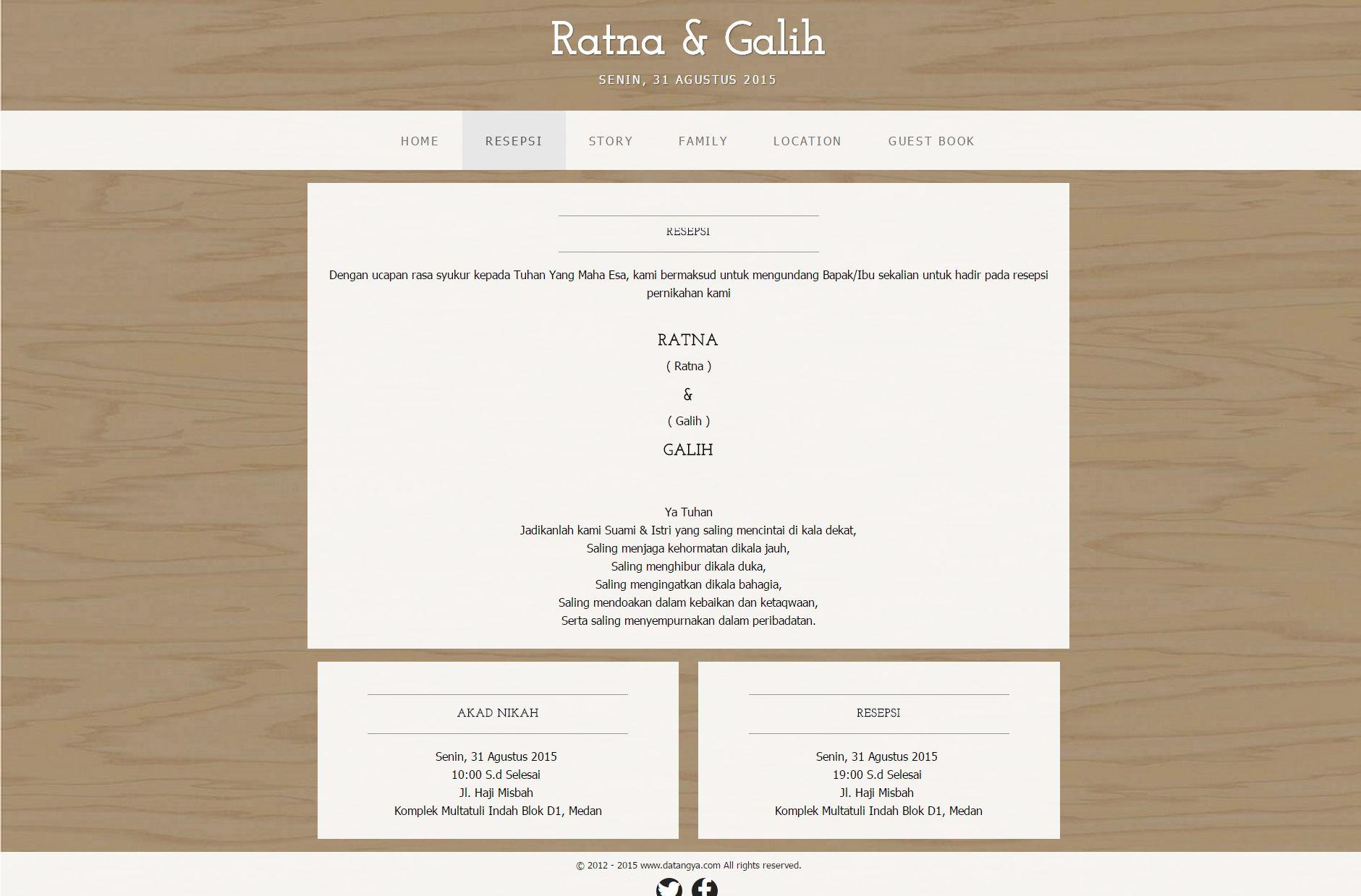 desain undangan online box