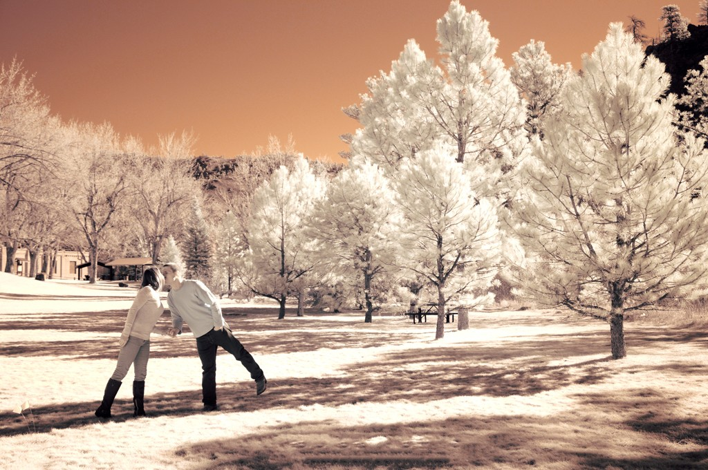 style fotografi infrared untuk prewedding anda - datangya