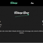 undangan online wayang menu keluarga
