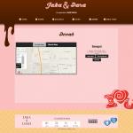 undangan online tema sweetcandy-denah