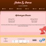 undangan online tema sweetcandy-keluarga
