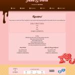 undangan online tema sweetcandy-resepsi