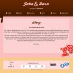 undangan online tema sweetcandystory