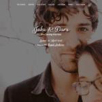 Desain Undangan Online Matrimony