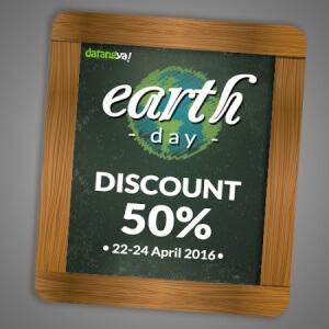 Hari Bumi 22 April 2016 Promo Diskon 50% Datangya