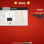 desain undangan online circus - denah
