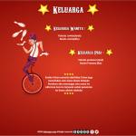 desain undangan online circus - keluarga