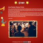 desain undangan online circus - story